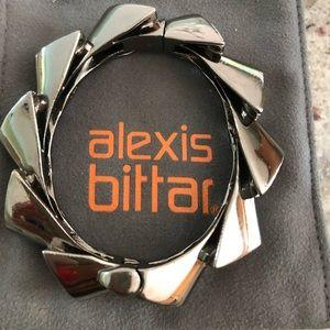 Alexis Bittar Gray Hemetite bracelet